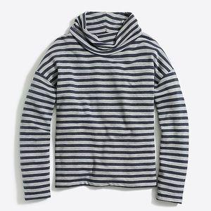 J.Crew Factory tunnelneck pullover sweatshirt